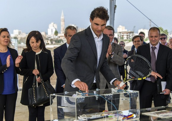 Image result for Rafa Nadal Tennis Academy opening