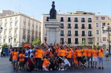 Thumbnail ISC student group visiting Madrid's most important places