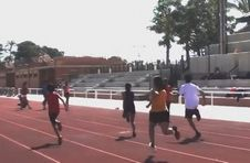 Thumbnail running on ISC's Alicante athletics track