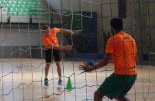 Thumbnail ISC Spain handball goalkeeper receiving classes