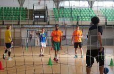 Thumbnail Handball training in ISC Spain pavilion