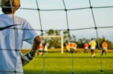 Thumbnail goalkeeper-specific training at ISC's football camp in Alicante