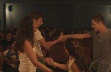Thumbnail students dancing at a live Spanish flamenco performance