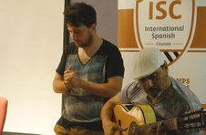 Thumbnail Flamenco group at ISC flamenco night