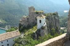 Thumbnail Guadalest castle landscape