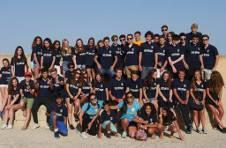 Thumbnail ISC campers visiting Santa Barbara castle