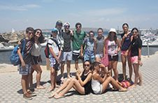Thumbnail ISC students arriving at Tabarca Island