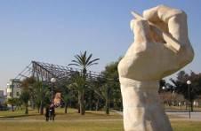 Thumbnail a sculpture at Alicante University