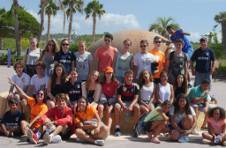 Thumbnail a group picture on the Alicante University tour