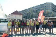 Thumbnail ISC students at San Juan beach