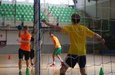 Thumbnail Handball training for international students in Spain