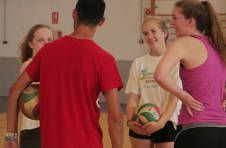 Thumbnail volleyball training in Spain