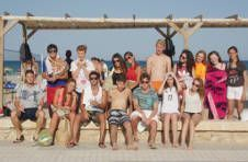 Thumbnail beach volleyball students in Alicante.