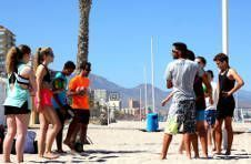 Thumbnail volleyball training with players from around the world