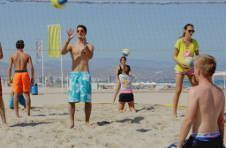 Thumbnail beach volleyball training in Spain
