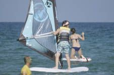 Thumbnail windsurfing lessons in Spain