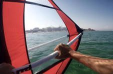 Thumbnail saling and Windsurfing classes at a summer camp in Alicante