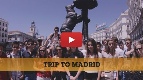 School trips to Madrid Video
