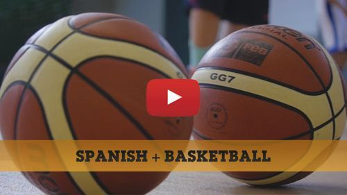Spanish + Basketball camp video