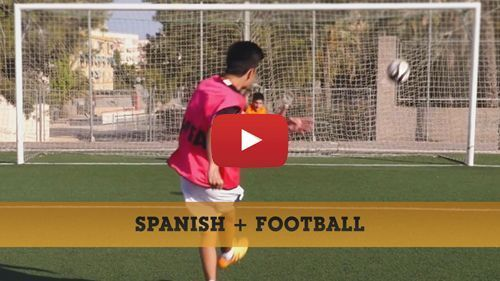 Spanish + Football camp video