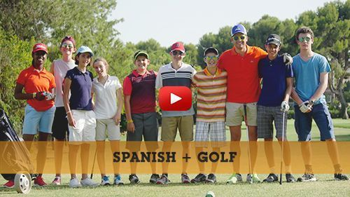 Spanish + golf camp video