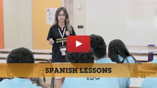 Spanish lessons video