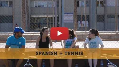 Spanish + Tennis camp video