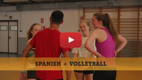 Spanish + Volleyball camp video