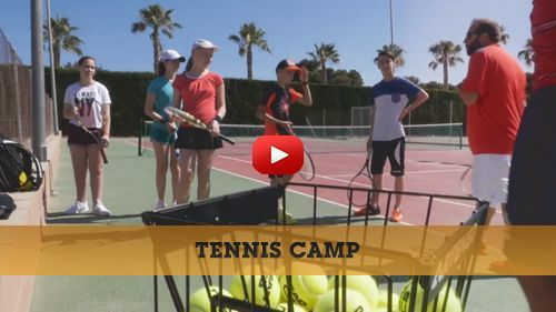 Tennis camp video